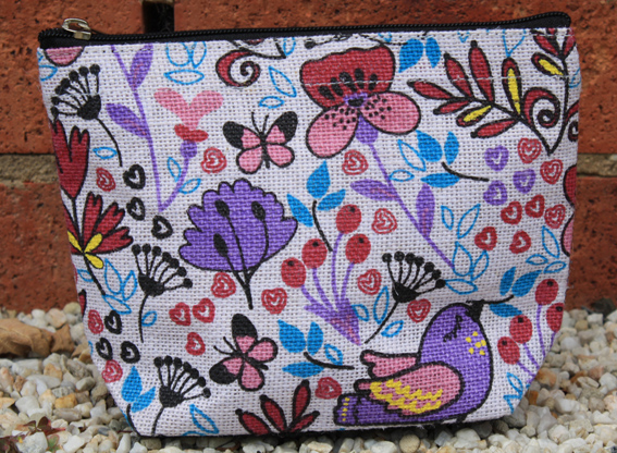 My Garden Cosmetic Bag