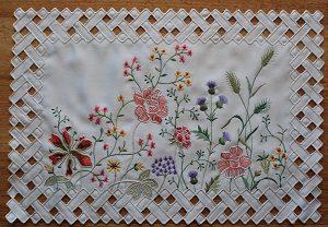 Lace - Grandi Flora - Placemat - Oblong