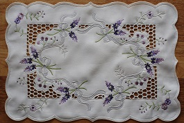 Lace - Lavandula - Placemat - Oblong