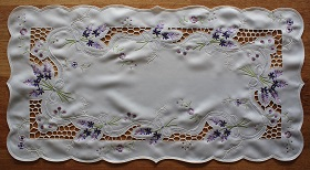 Lace - Lavandula - Runner - Oblong