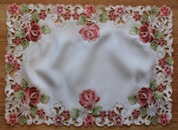 Lace - Rosanna - Placemat - Oblong