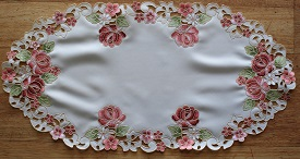 Lace - Rosanna - Placemat - Oval