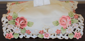 Tissue Box Cover - Rosanna