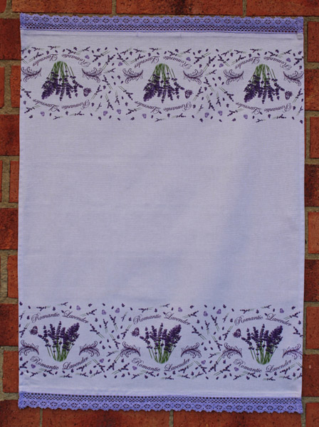 Lavande Romantique - Tea Towel