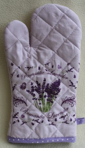 Lavande Romantique - Single Oven Mitt