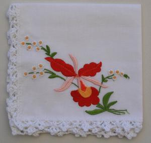 Handkerchiefs - Large Embroidery