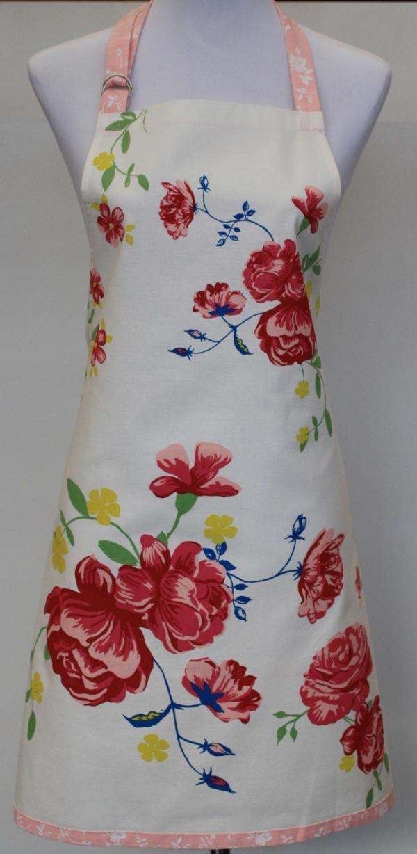 In Bloom Full Apron - Placement Print