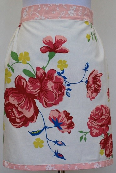 In Bloom Waist Apron - Placement Print
