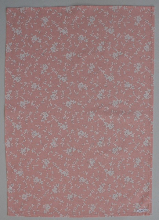 In Bloom Tea Towel - Pink Print