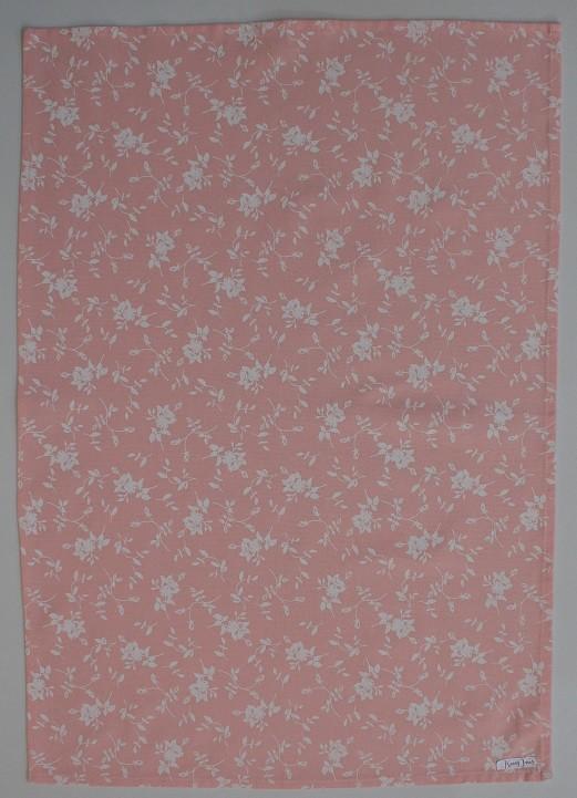 In Bloom Tea Towel - Pink Print