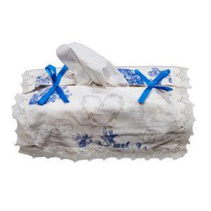 Tissue Box Cover - Bonheur