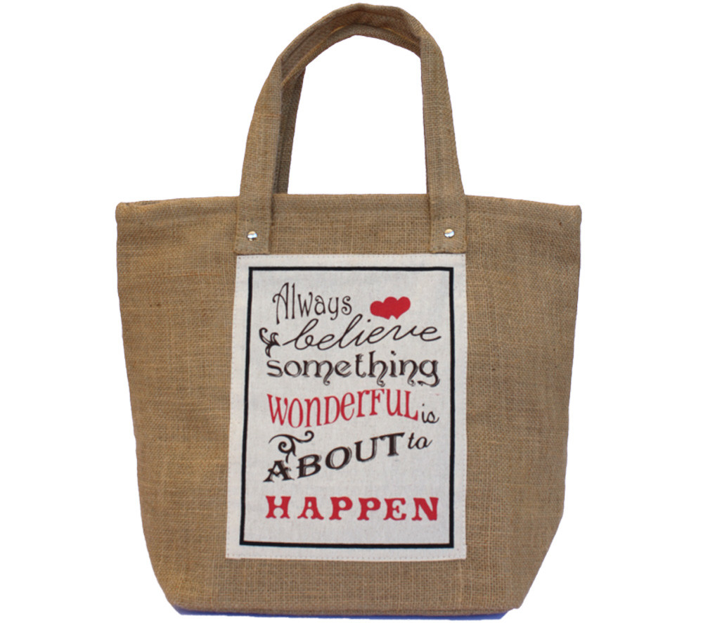 Food For Thought Bag - Always Believe