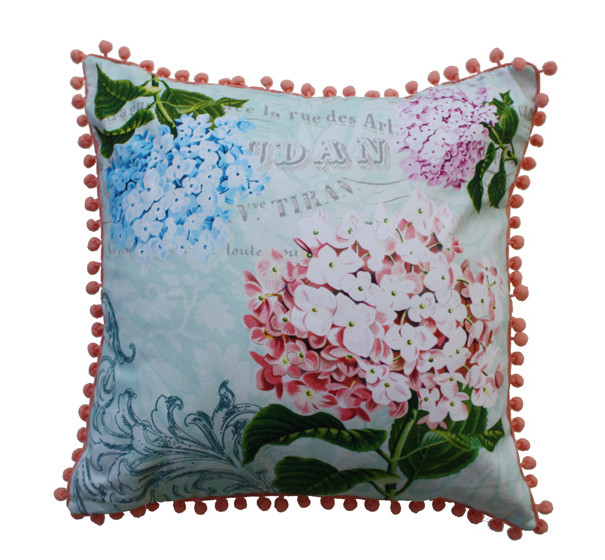 In Bloom Cushion Cover - Hydrangea