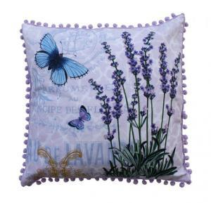 In Bloom Cushion Cover - Lavender