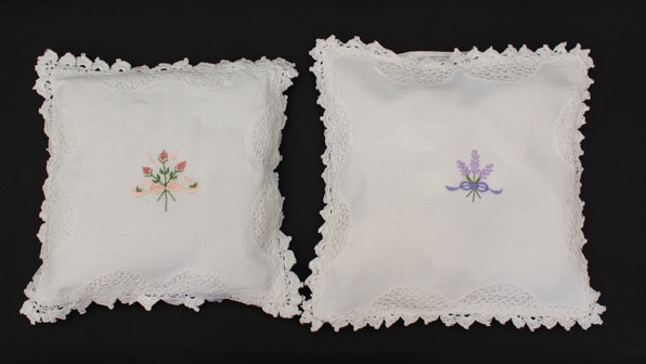 Sleep Pillow Embroidered - Empty