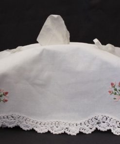 Tissue Box Cover Embroidered